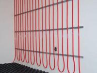 Stěnové vytápění - komponenty