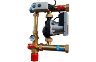 Mísící sada s třícestným ventilem pro nízkoteplotní zdroje