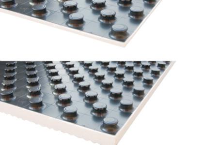 Systémová deska podlahového topení