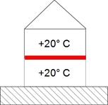 Podlaha mezi vytápěnými prostory